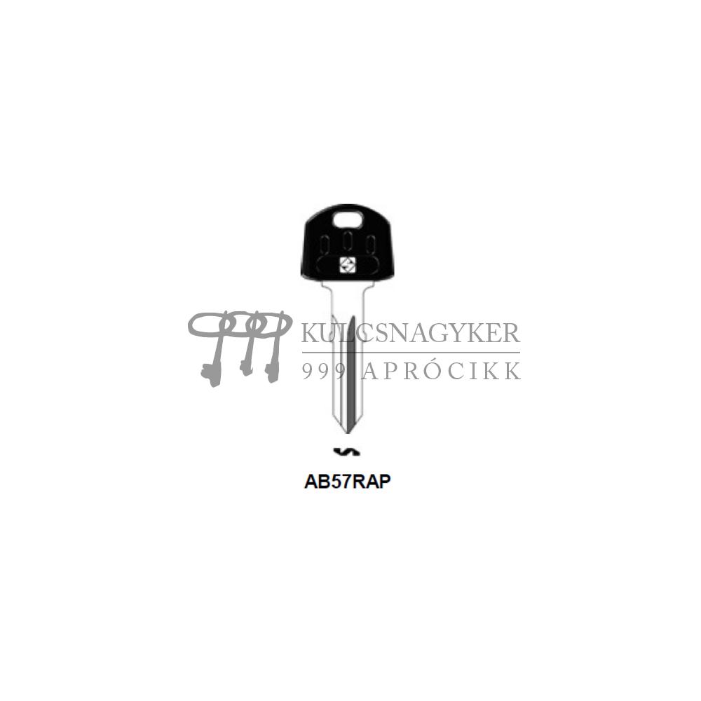 AB57RAP (Silca), ABU-18P (JMA), AU66RP43 (Errebi), ABU57SP (Keyline)