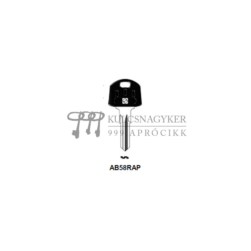 AB58RAP (Silca), ABU-35P (JMA), AU65R (Errebi), ABU67SP (Keyline)