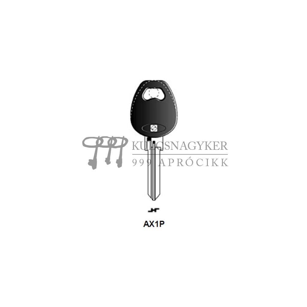 AX1P (Silca), AX-1P (JMA), AX1P143 (Errebi), AXA3P (Keyline)