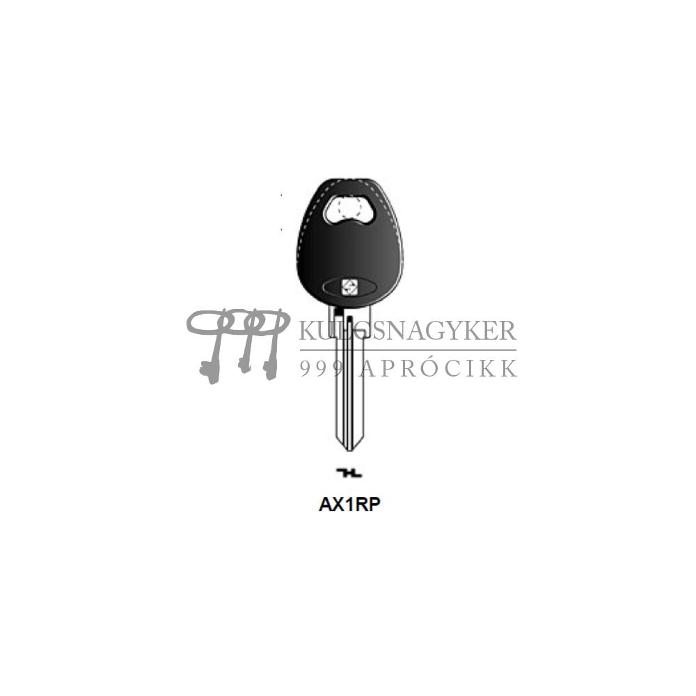 AX1RP (Silca), AX-1DP (JMA), AX1RP143 (Errebi), AXA3SP (Keyline)