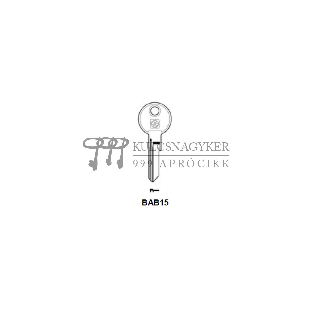 BAB15 (Silca), BAB-8D (JMA), BAB2 (Errebi)