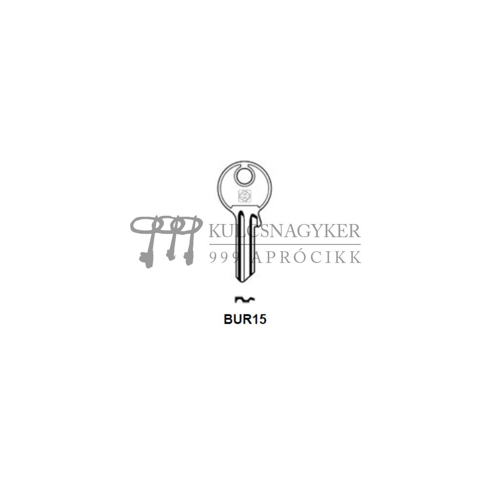 BUR15 (Silca), BUR-22D (JMA), BG17 (Errebi), BU15 (Keyline)