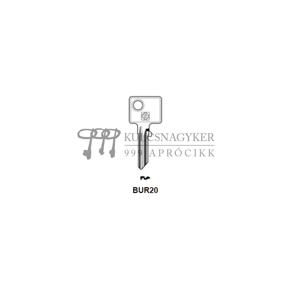 BUR20 (Silca), BUR-4D (JMA), BG24 (Errebi), BU3 (Keyline)