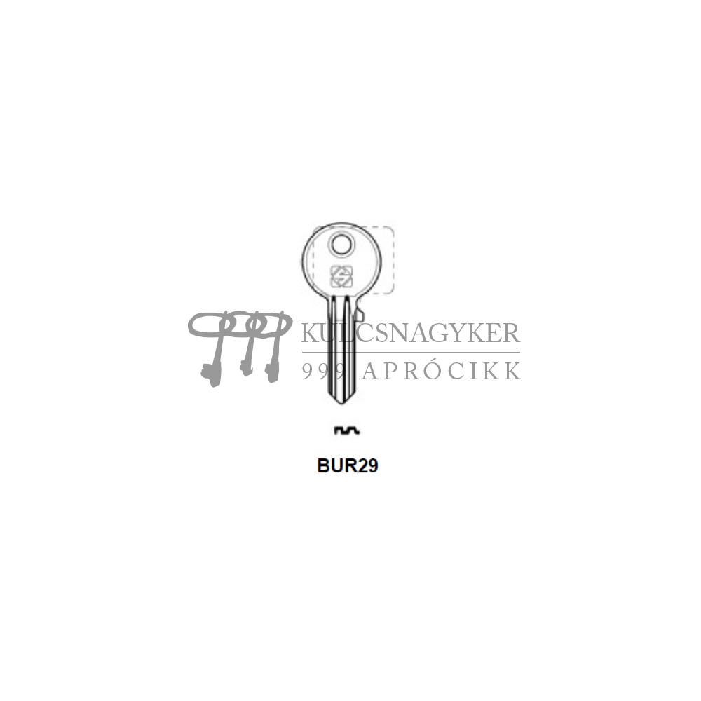 BUR29 (Silca), BUR-19D (JMA), BG39 (Errebi), BU10 (Keyline)