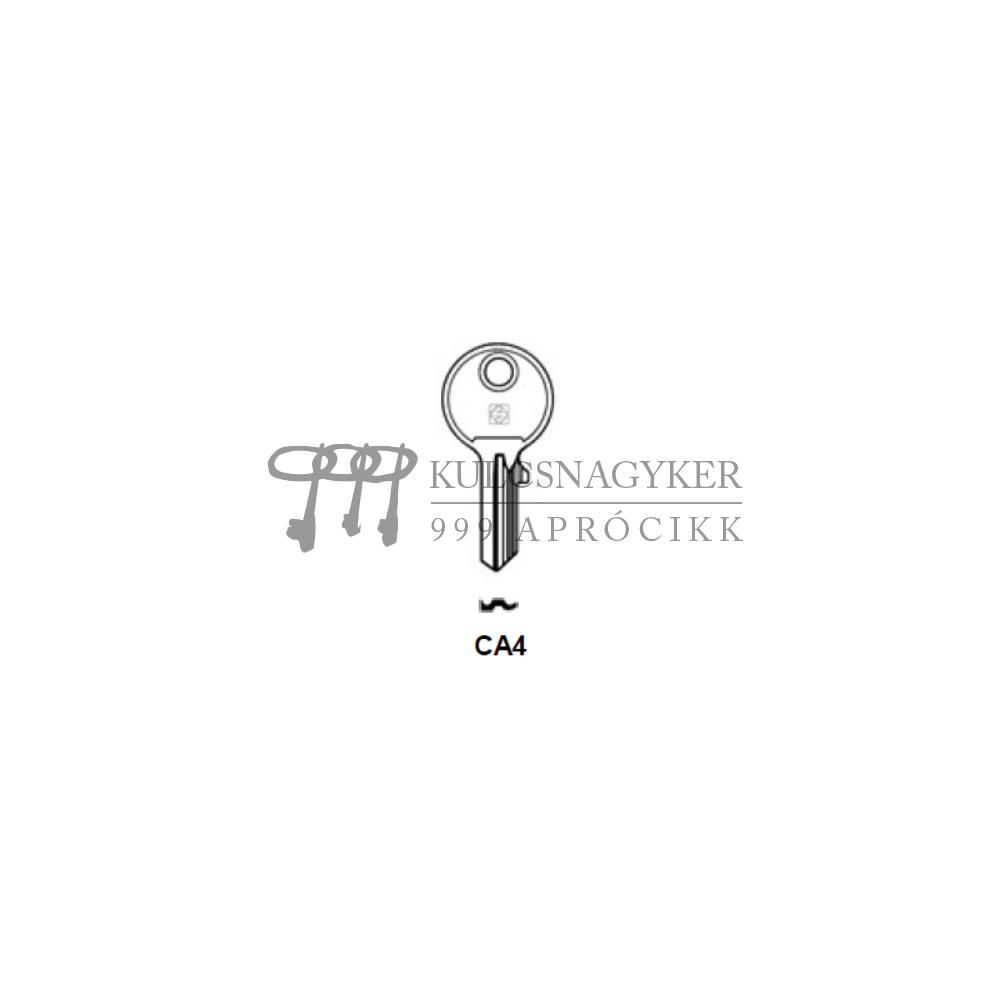CA4 (Silca), CA-15I (JMA), CT3P (Errebi), CY4 (Keyline)