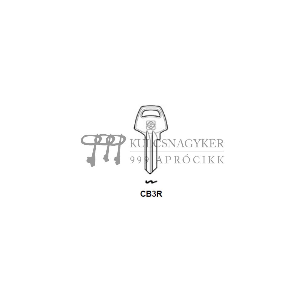 CB3R (Silca), CO5PS (Errebi), COR5PS (Keyline)