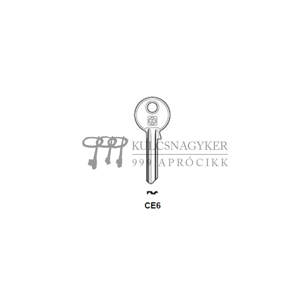 CE6 (Silca), CE-3D (JMA), CE6PD (Errebi), CS11 (Keyline)