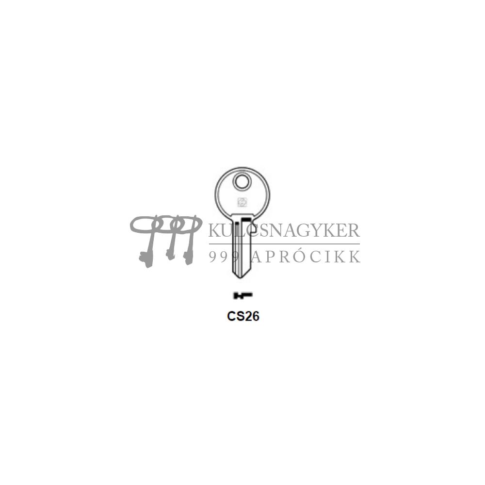 CS26 (Silca), ABU-9D (JMA), AU23 (Errebi), CA26 (Keyline)