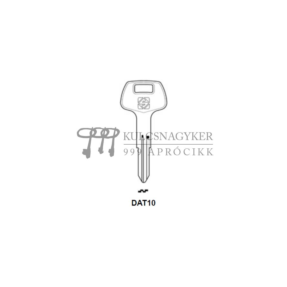 DAT10 (Silca), NS40 (Keyline)