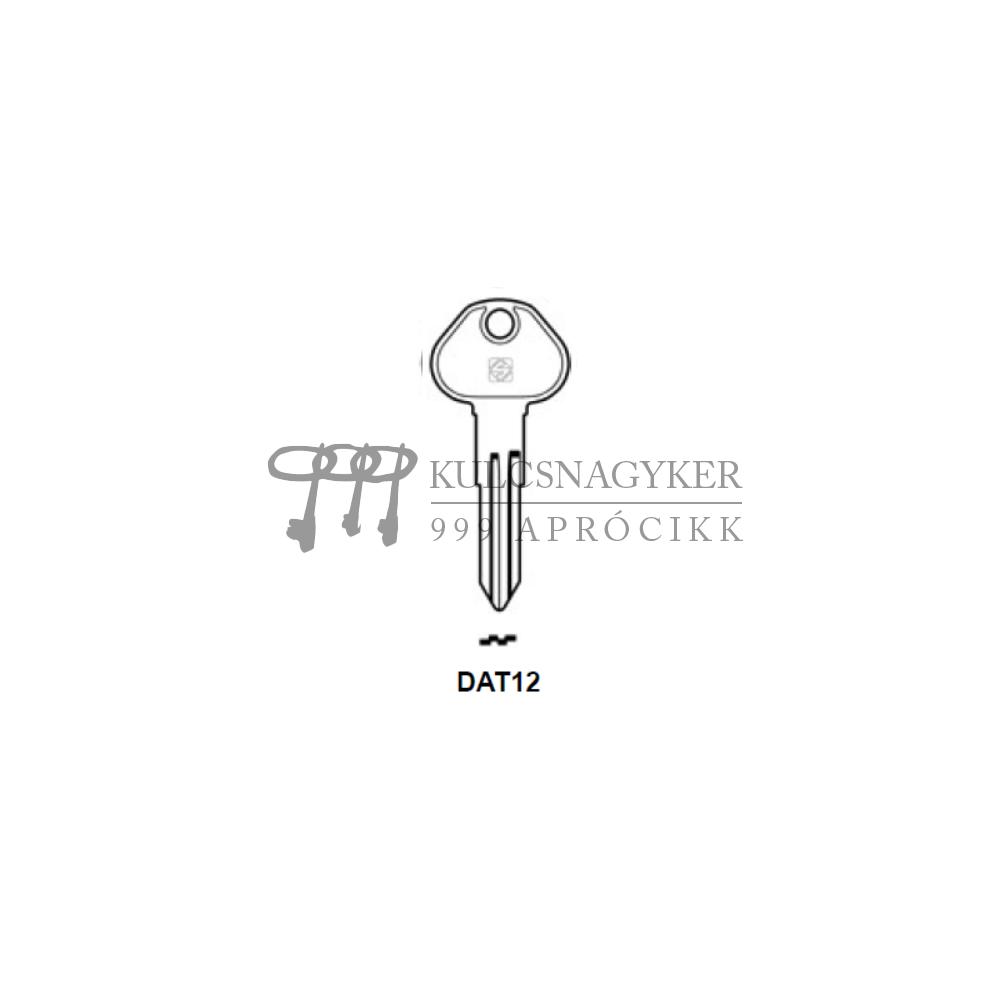 DAT12 (Silca), DAT-6 (Errebi), DT8 (Errebi), DA27 (Keyline)