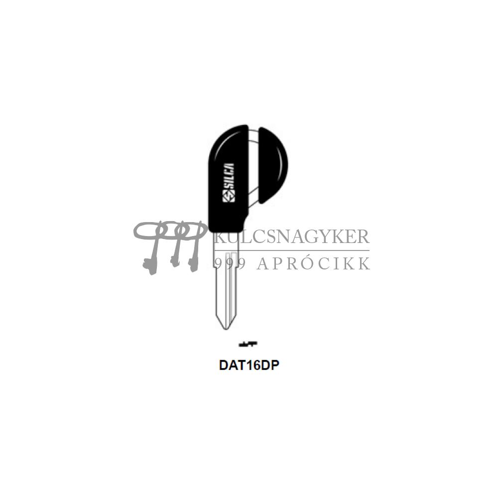 DAT16DP (Silca), DAT-13P (JMA), DT13P159 (Errebi), NS56DP (Keyline)