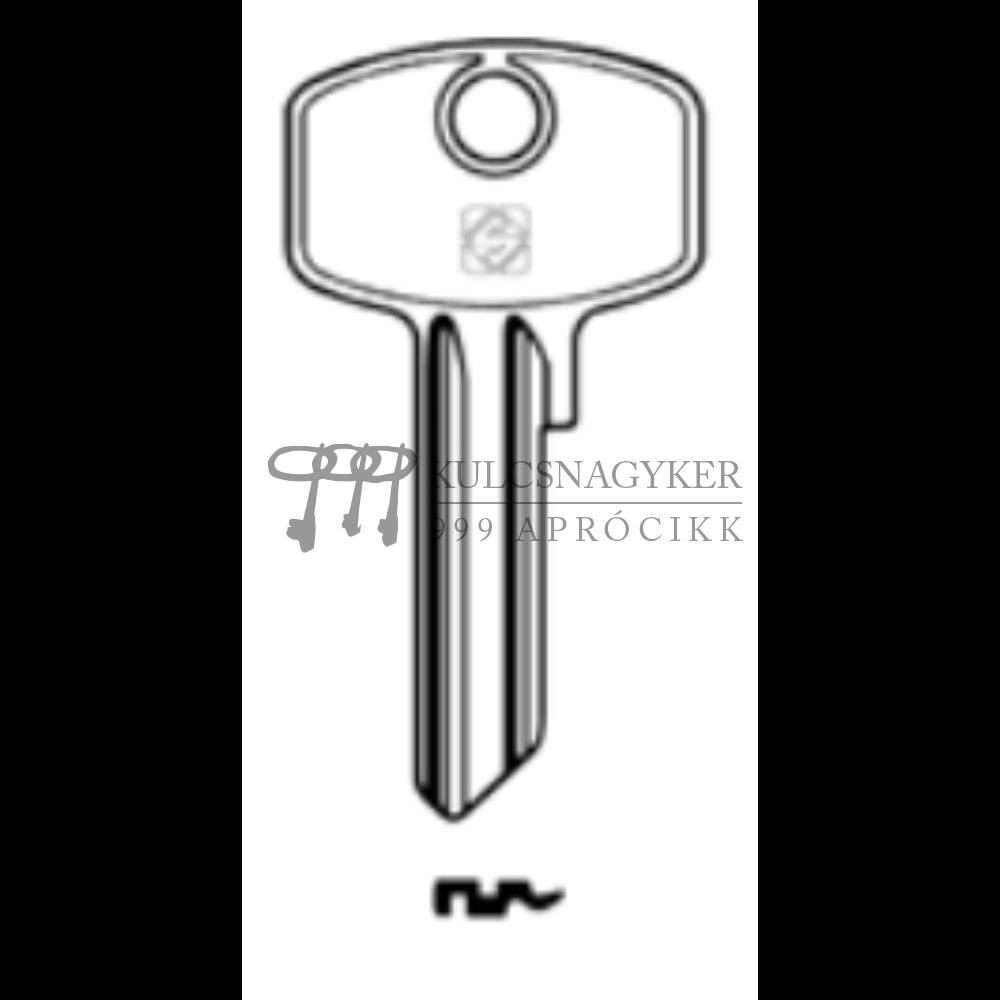 DM103 (Silca), DOM-46D (JMA), DO13 (Keyline)