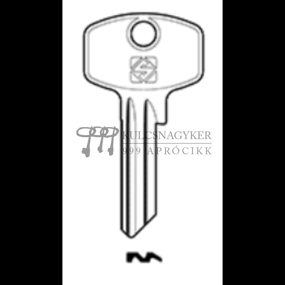 DM119 (Silca), DOM-21D (JMA), DM5RN (Errebi), DO220 (Keyline)